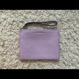 BRAND NEW Aimee Kerstenberg Leather wristlet. $25